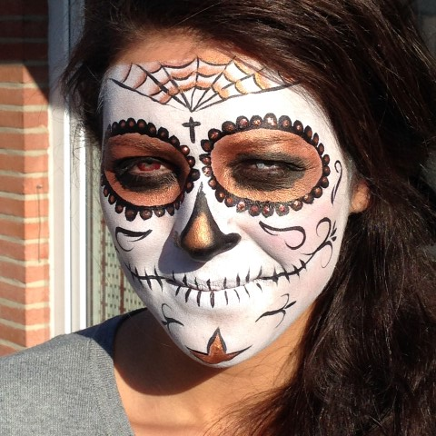 Scull vrouw